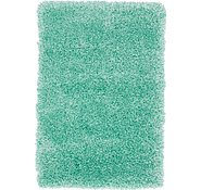 Link to 65cm x 90cm Luxe Solid Shag Rug