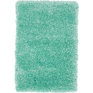 2×3 Green Solid Frieze  Rugs