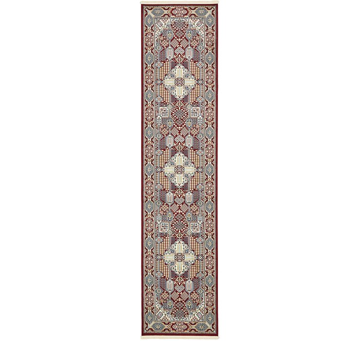 3' x 13' Nain Design Runner Rug