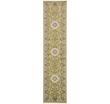 91x396 Nain Design Rug