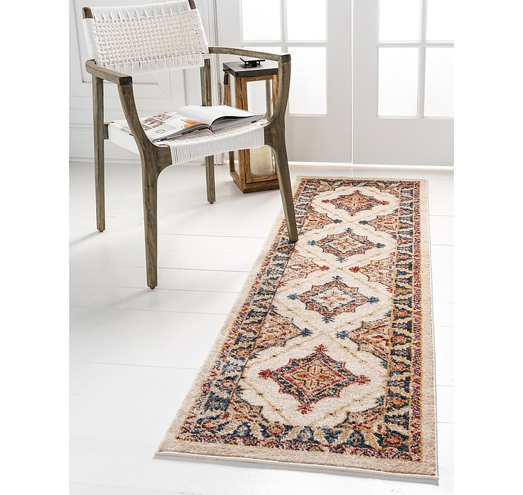 Cream Eden Runner Rug