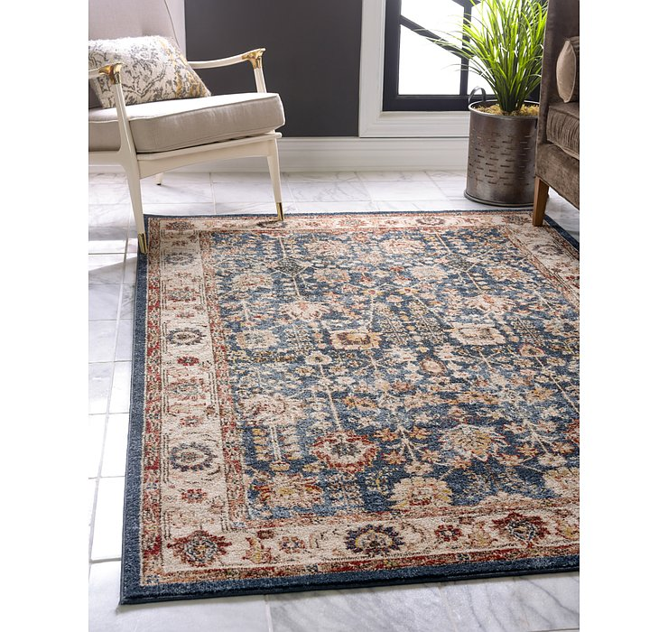 Light Blue Eden Rug
