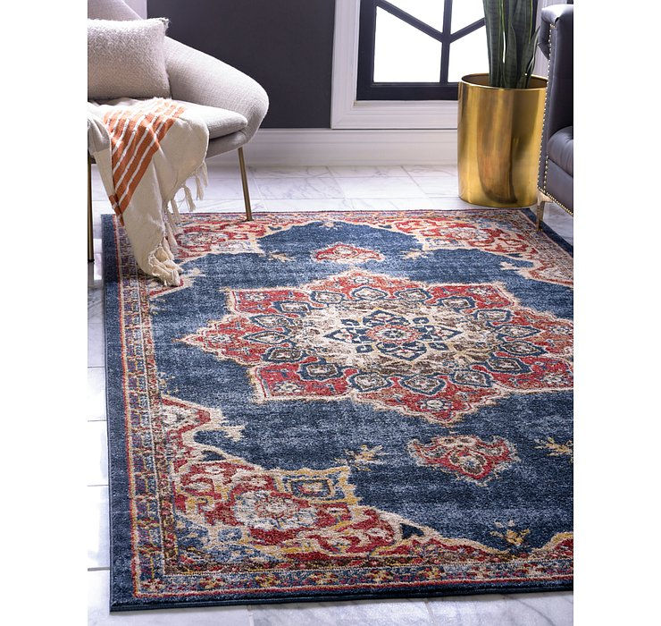 Dark Blue Eden Rug