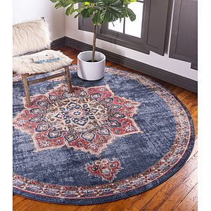 Link to 7' x 7' Arcadia Round Rug item page