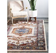 Link to Unique Loom 4' x 6' Utopia Rug