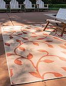 9' x 12' Outdoor Botanical Rug thumbnail image 1