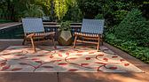 5' x 8' Outdoor Botanical Rug thumbnail image 3
