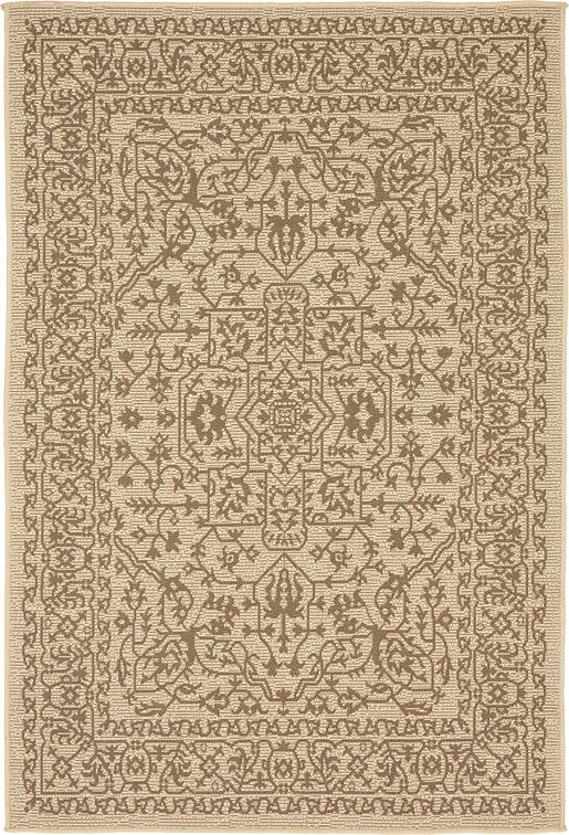 Beige 4 39 X 6 39 Outdoor Rug Area Rugs IRugs UK