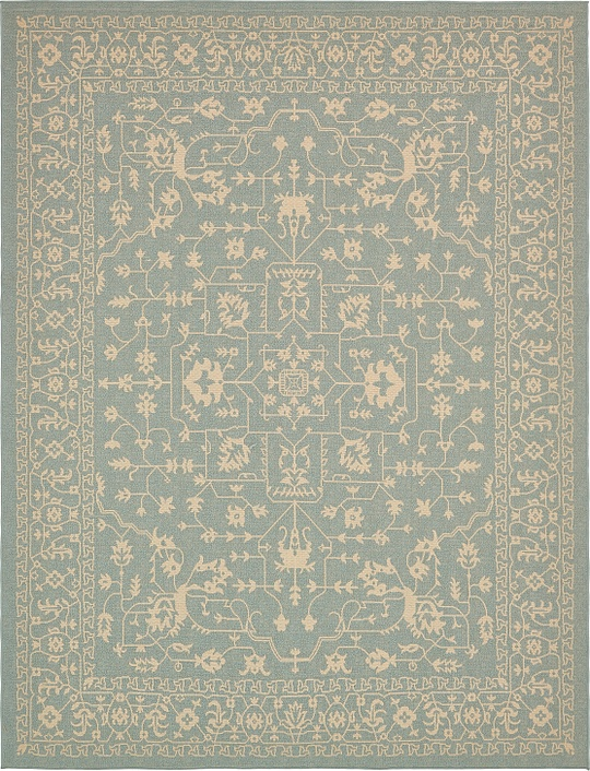 Light Blue 9 39 X 12 39 Outdoor Rug Area Rugs IRugs UK