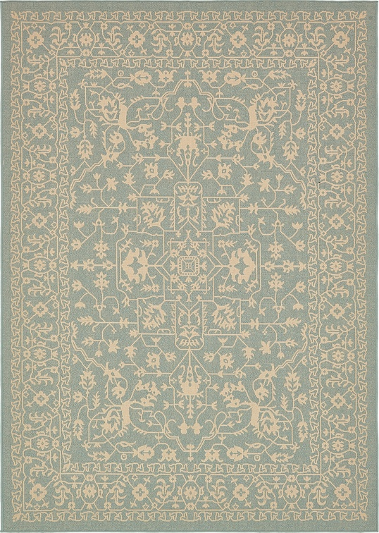 Light Blue 7 39 X 10 39 Outdoor Rug Area Rugs IRugs UK