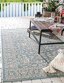 4' x 6' Outdoor Botanical Rug thumbnail image 1