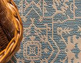4' x 6' Outdoor Botanical Rug thumbnail image 5