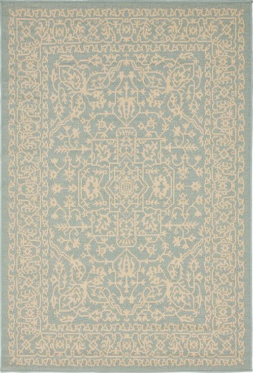 Light Blue 4 39 X 6 39 Outdoor Rug Area Rugs IRugs UK