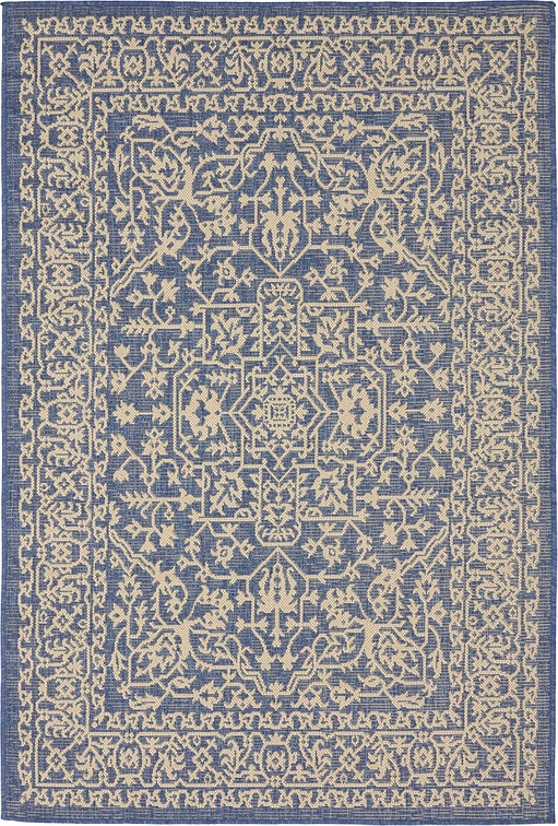 Blue 4 39 X 6 39 Outdoor Rug Area Rugs IRugs UK
