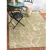 Link to 7' x 10' 2 Outdoor Botanical Rug