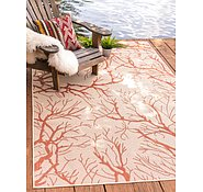 Link to 8' x 11' 4 Outdoor Botanical Rug