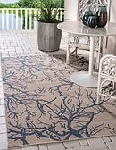7' x 10' Outdoor Botanical Rug thumbnail image 1
