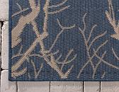 5' x 8' Outdoor Botanical Rug thumbnail