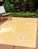 8' x 11' 4 Outdoor Botanical Rug thumbnail image 1