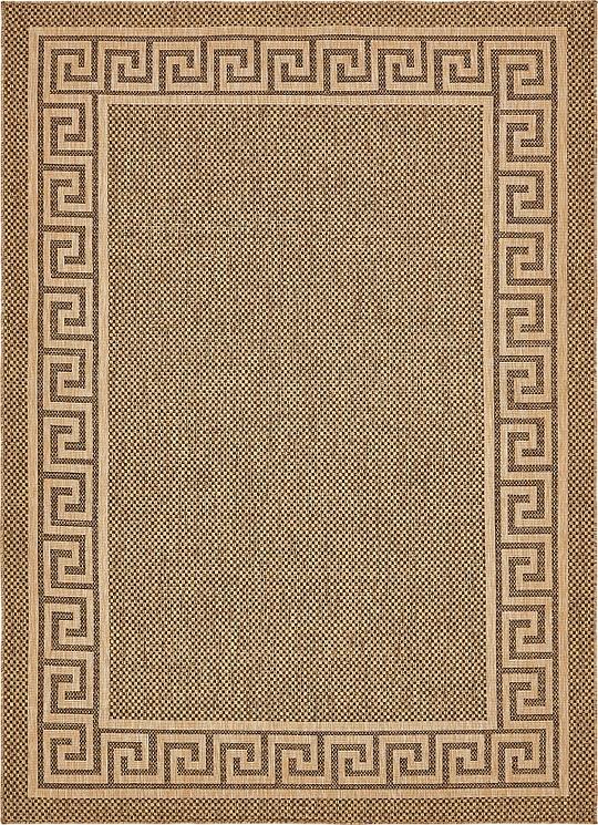 brown 8 39 x 11 39 4 outdoor rug area rugs irugs uk. Black Bedroom Furniture Sets. Home Design Ideas