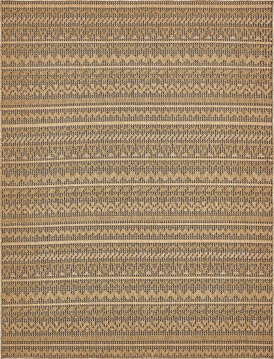 Light Brown 9 x 12 Outdoor Rug Area Rugs