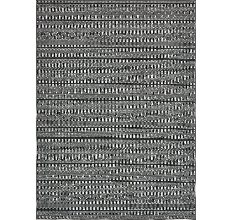 8' x 11' 4 Outdoor Modern Rug