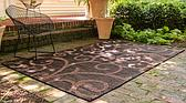 9' x 12' Outdoor Botanical Rug thumbnail image 2