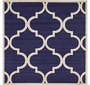Link to Unique Loom 8' x 8' Trellis Square Rug
