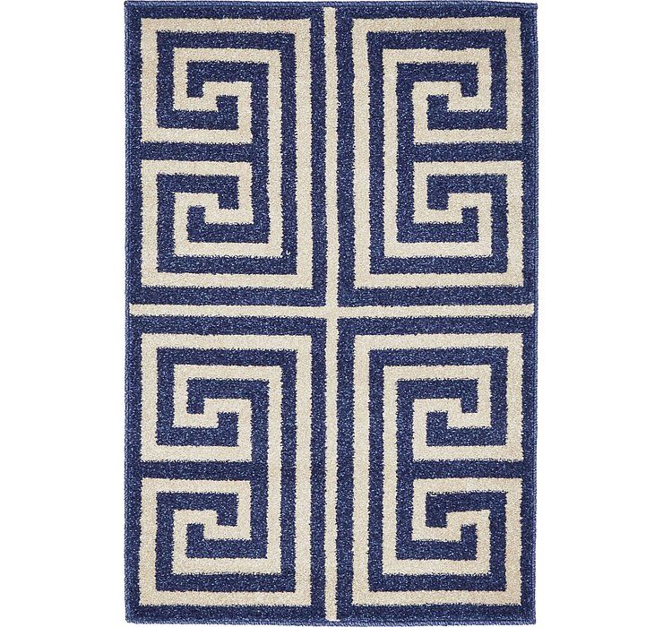 2' 2 x 3' Greek Key Rug