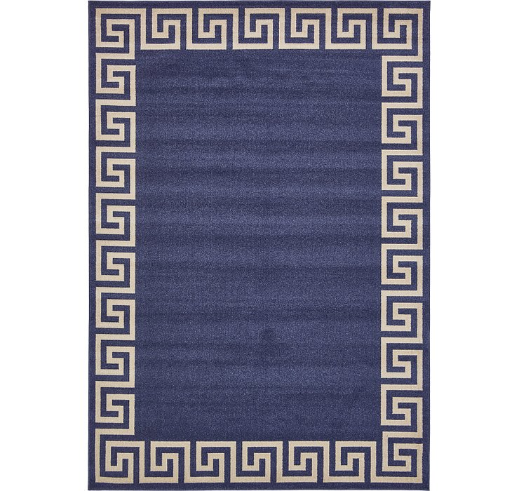 8' x 11' 4 Greek Key Rug