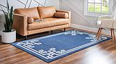 6' x 9' Greek Key Rug thumbnail