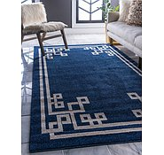 Link to 8' x 11' 4 Greek Key Rug