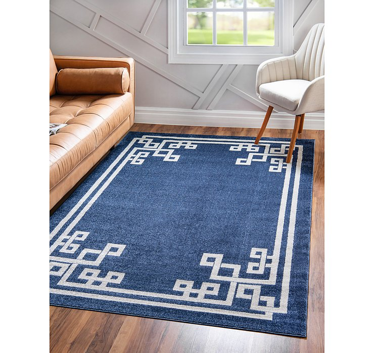 6' x 9' Greek Key Rug