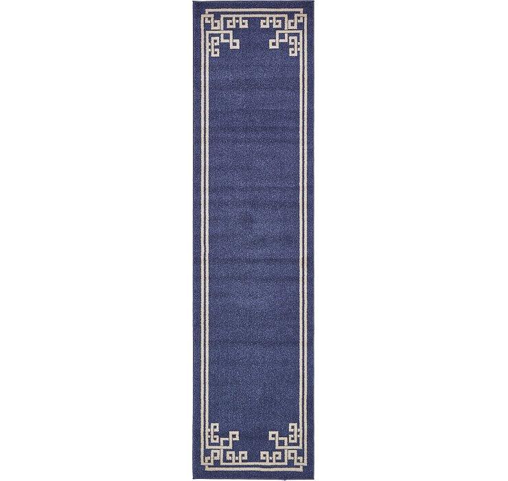 Dark Blue Hera Runner Rug