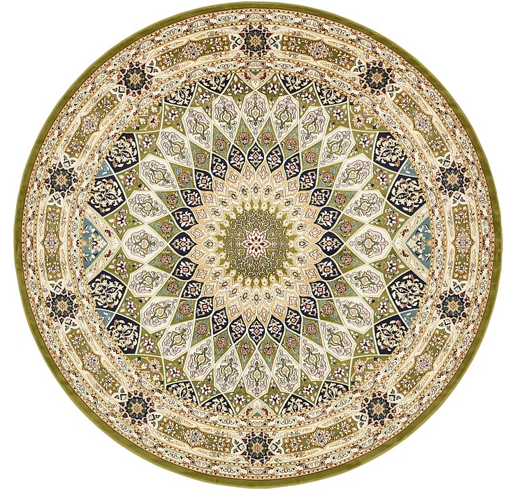 10' x 10' Rabia Round Rug
