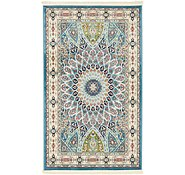 Link to 90cm x 152cm Nain Design Rug