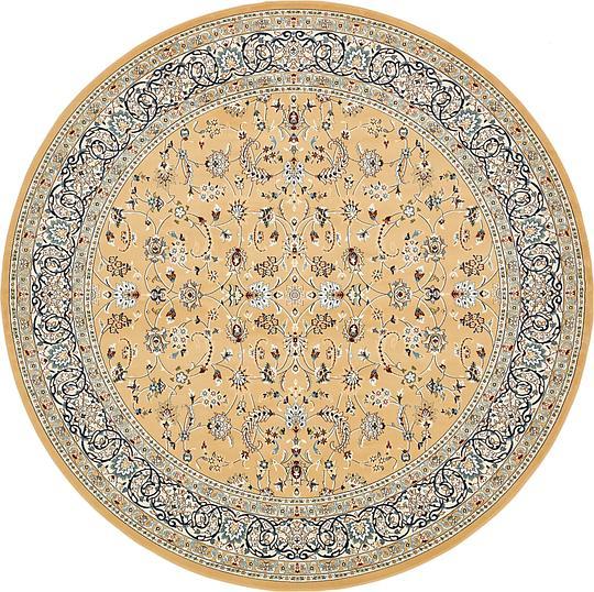 Beige 10 X 10 Nain Design Round Rug Area Rugs Irugs Uk