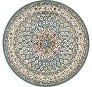 Link to 305cm x 305cm Nain Design Round Rug