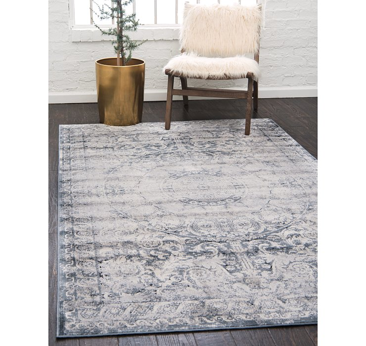 Dark Blue Eliza Rug