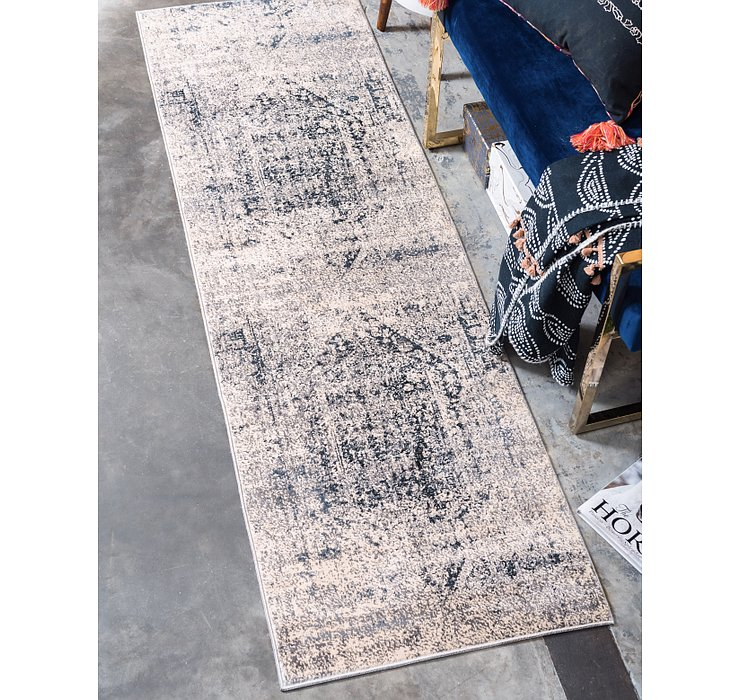 Gray Eliza Runner Rug