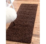 Link to 2' 6 x 16' 5 Solid Shag Runner Rug