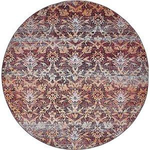 Unique Loom 8' x 8' Augustus Round Rug