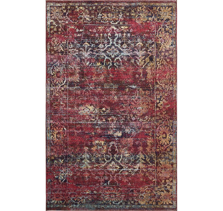 Rust Red Charlotte Rug