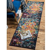 Link to Unique Loom 2' 7 x 10' Estrella Runner Rug