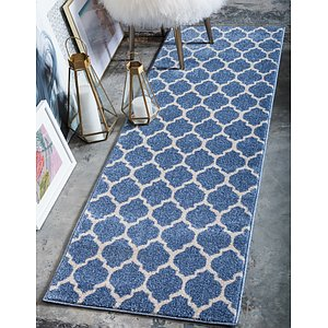 Link to 60cm x 183cm Trellis Runner Rug page