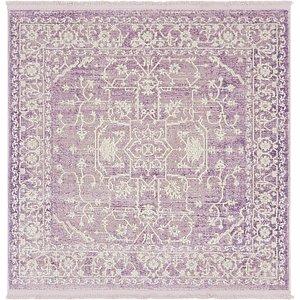 Unique Loom 4' x 4' New Classical Square Rug