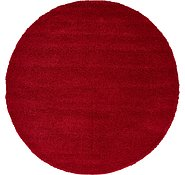 Link to 183cm x 183cm Solid Frieze Round Rug