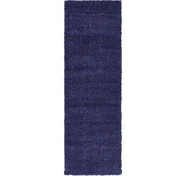 66x201 Solid Frieze Rug