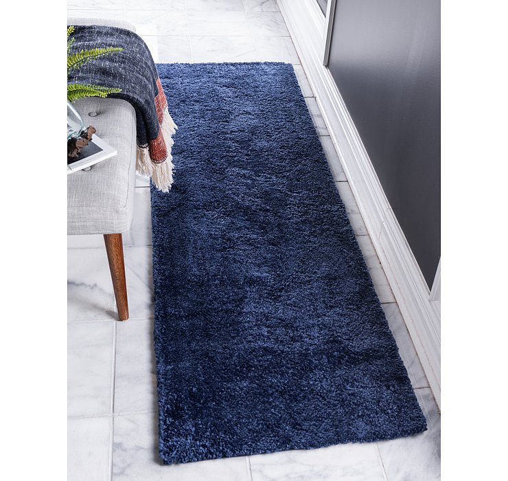 2' 2 x 13' Solid Frieze Runner Rug