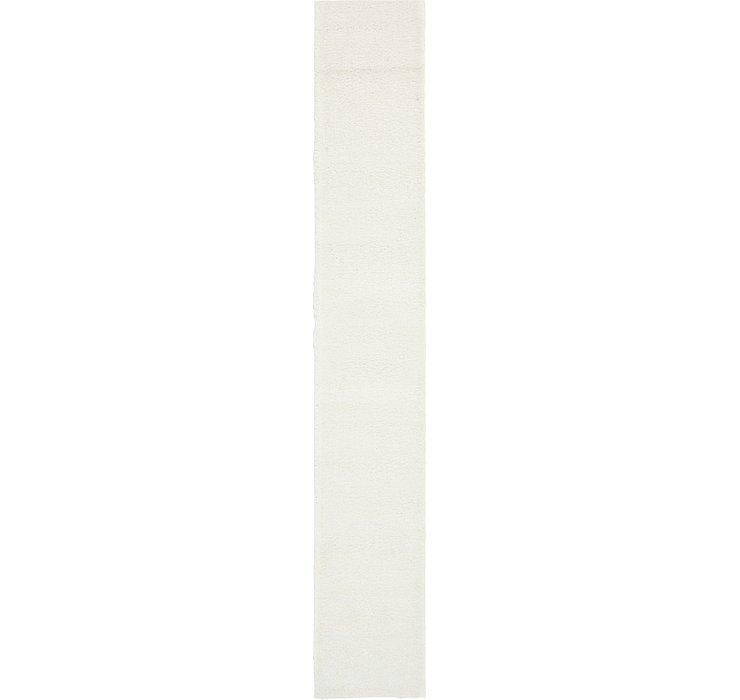 2' 2 x 13' Solid Frieze Runner Rug